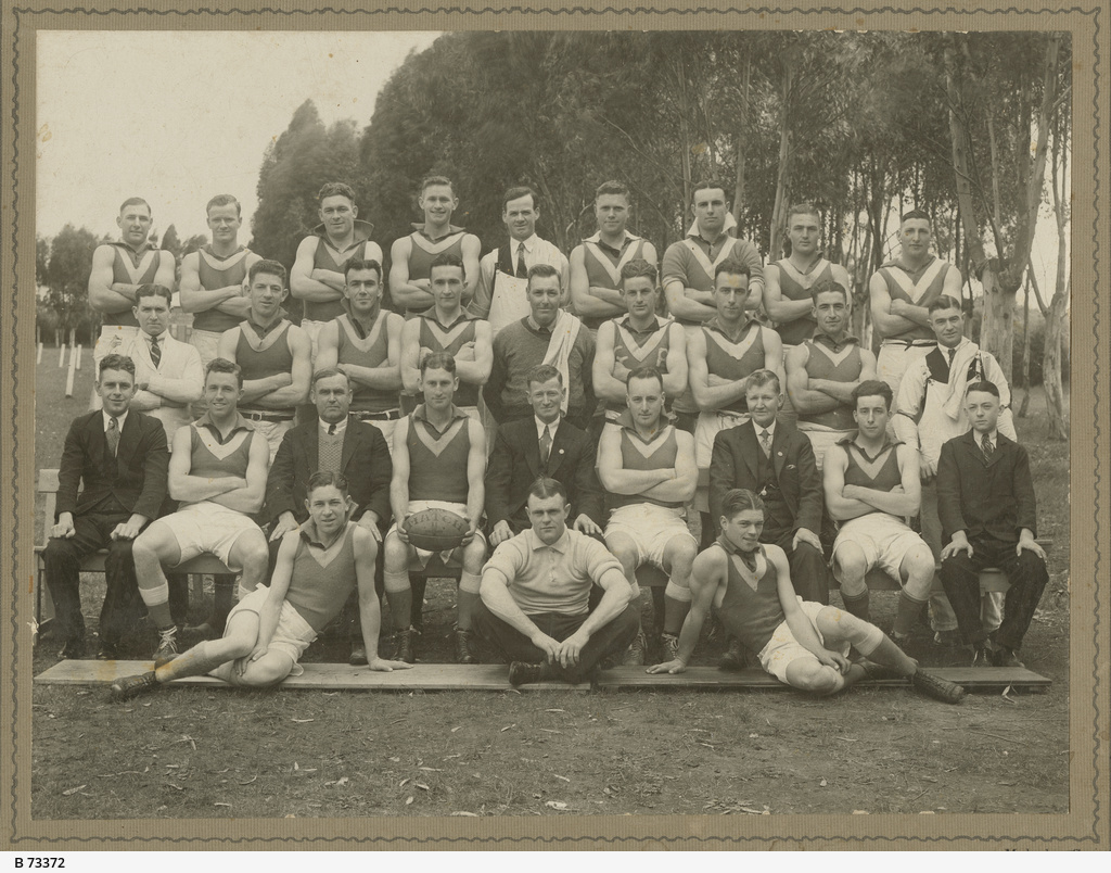 Glenroy Football Club, Premiers, 1933