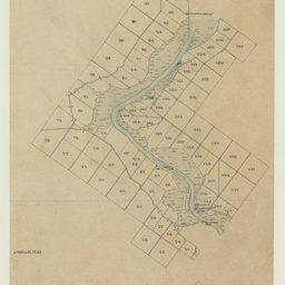 [Tracing showing sections in the Hundreds of Mobilong and Burdett(parts)] [cartographic material]