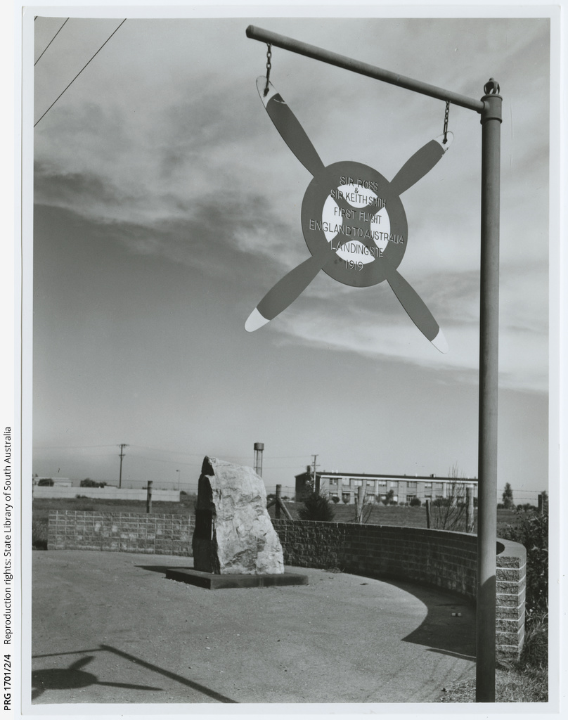 Photographs of memorials and commemorations of the first