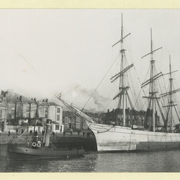 The 'Sierra Lucena' in an unidentified port