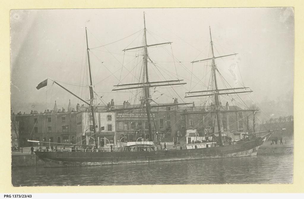 The 'Esmeralda' at Bristol