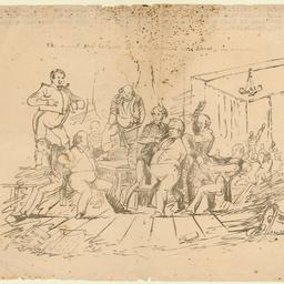 Political sketch of Osmond Gilles