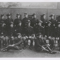 Ross in the Australian Mounted Cadets.