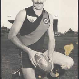 Footballer Desmond John Herbert