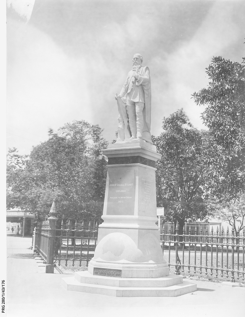 John McDouall Stuart statue