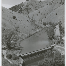 Torrens Gorge weir, South Australia