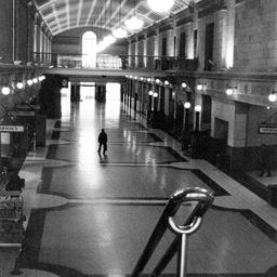 Arrival hall, Adelaide Railway Station
