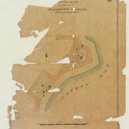 [Plan of] Blocks D and E, section 3 [Kingscote] Kangaroo Island [cartographic material]