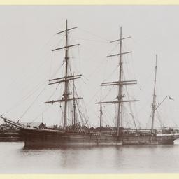 The 'Savernake' at Port Adelaide
