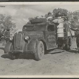 H. E. Ding's truck on the Birdsville Track