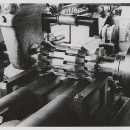 Form milling 20mm gun bodies.