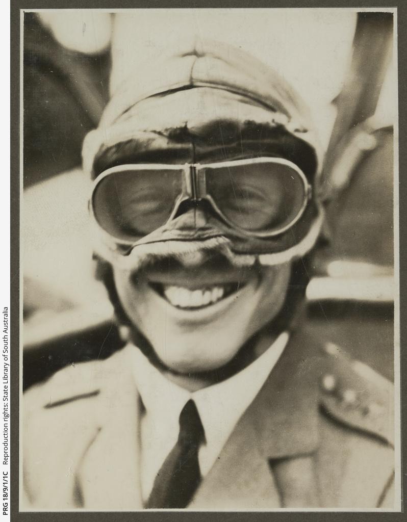 Ross Smith in flight uniform.