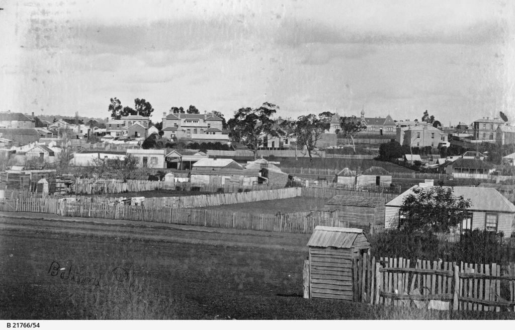 Mount Gambier and District : View of Hamilton, Victoria