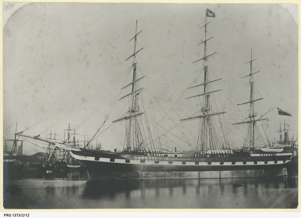 The 'Darra' anchored in an unidentified port
