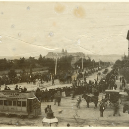 Dean Russell's funeral procession from St Pauls