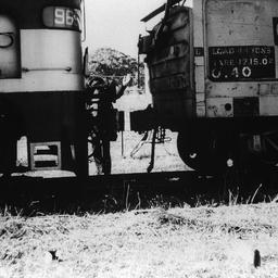 Last train to leave Willunga Railway yard