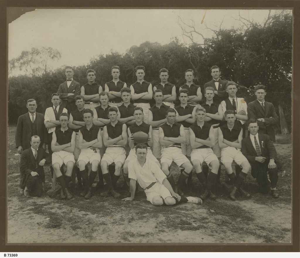 The Rovers Football Team, 1925