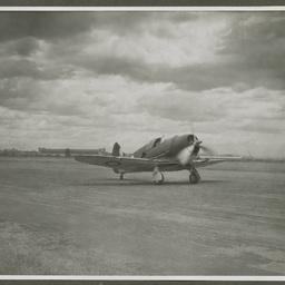A46 CAC Boomerang take-off.