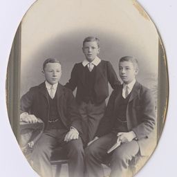 Portrait of Ross, Colin and Keith Smith