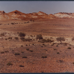 View of Painted Hills range, South Australia