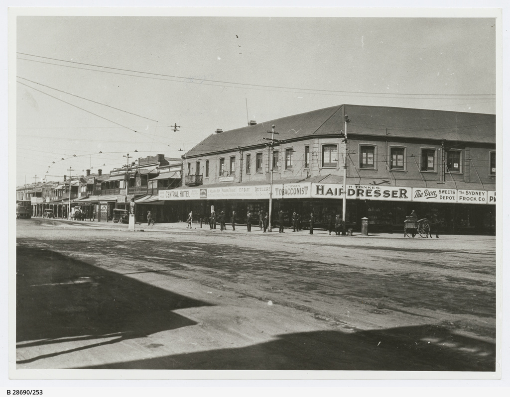 Views of streets in Port Adelaide district