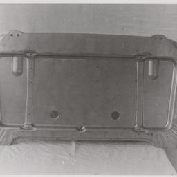 Cab seat pan.
