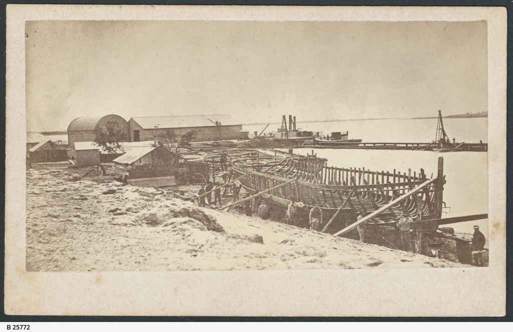 Boat-Building, Goolwa