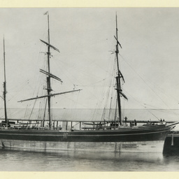 The 'Beltana' at Port Adelaide
