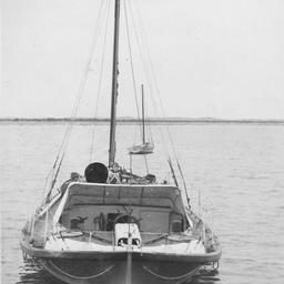 Life-boat at sea near Beachport, South Australia