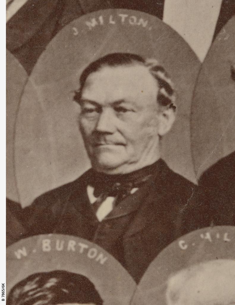 South Australian pioneers 1840 : James Milton