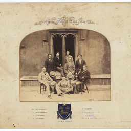 Photographs of E.W. Hawker and his family