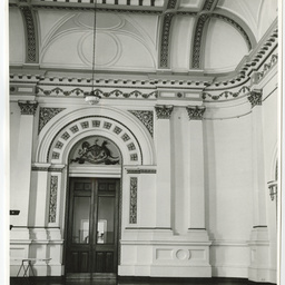 Interior of the banqueting hall and council chambers in the Adelaide Town Hall