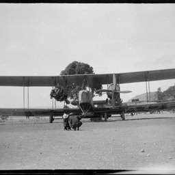 Vickers Vimy at Parafield aerodrome.