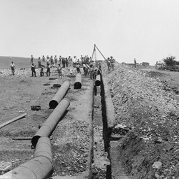 Happy Valley Reservoir : Main pipe track