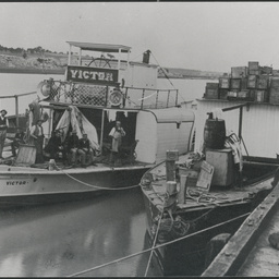 Victor and Ruby paddle steamers