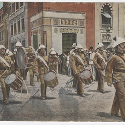 Postcard of English soldiers in Egypt.