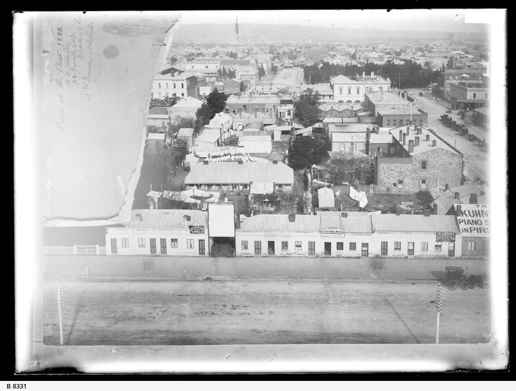 Adelaide viewed from the Exhibition Building
