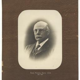Portrait of Edwin Mitchell Smith, I.S.O.