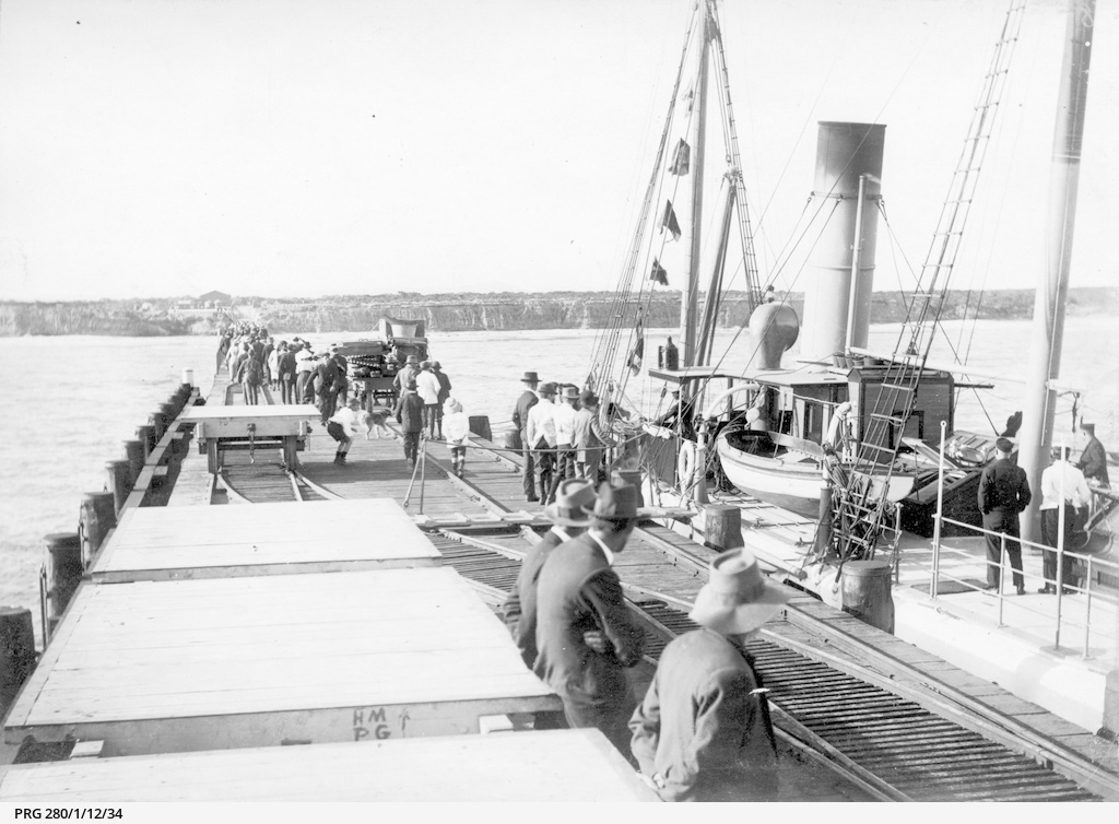 The S.S.'Governor Musgrave' at Port Gibbon