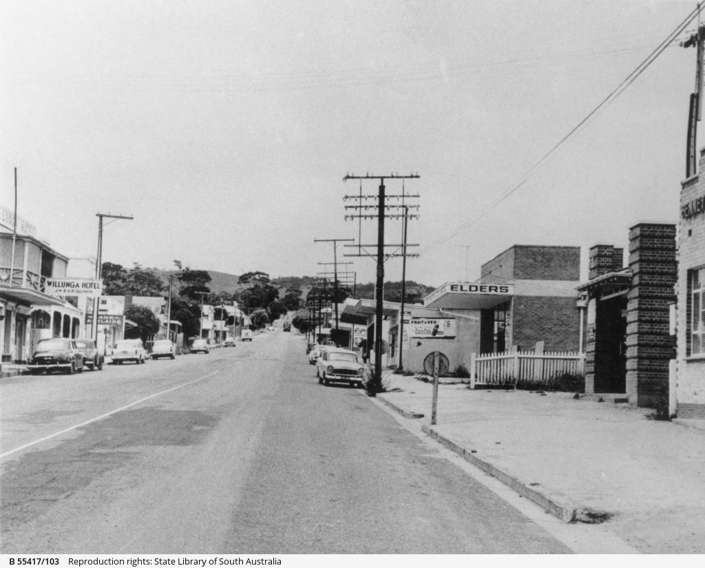 Main street of Willunga