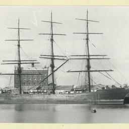 The 'Glenericht' after being renamed 'Mariechen'
