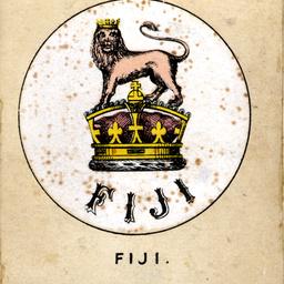 Emblem for the flag of Fiji
