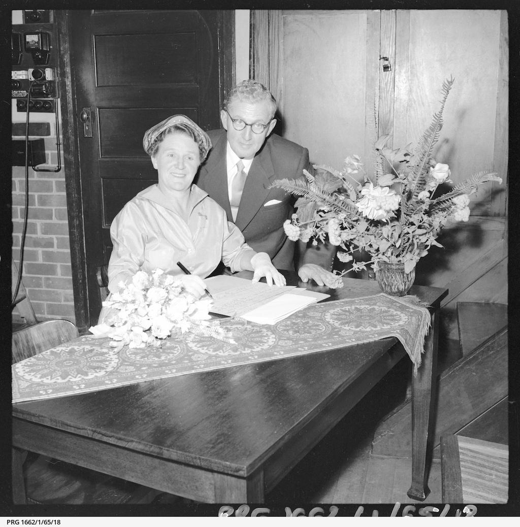 Dearsley - Woolfe wedding