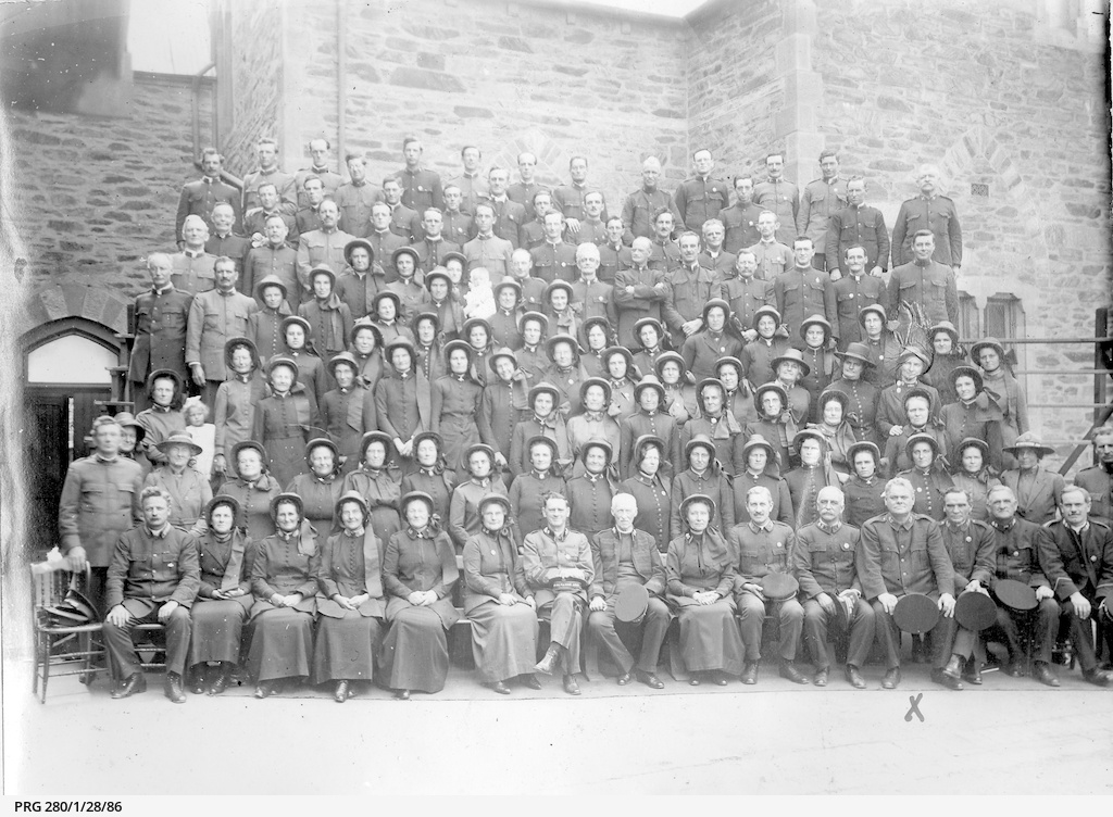 Men and women of the Salvation Army in Adelaide