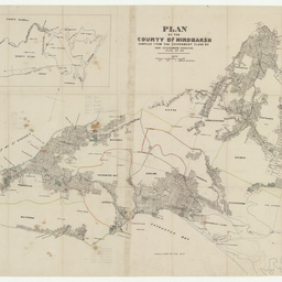 Plan of the County of Hindmarsh [cartographic material] / compiled from the Government plans by Robt. Stephenson, Surveyor
