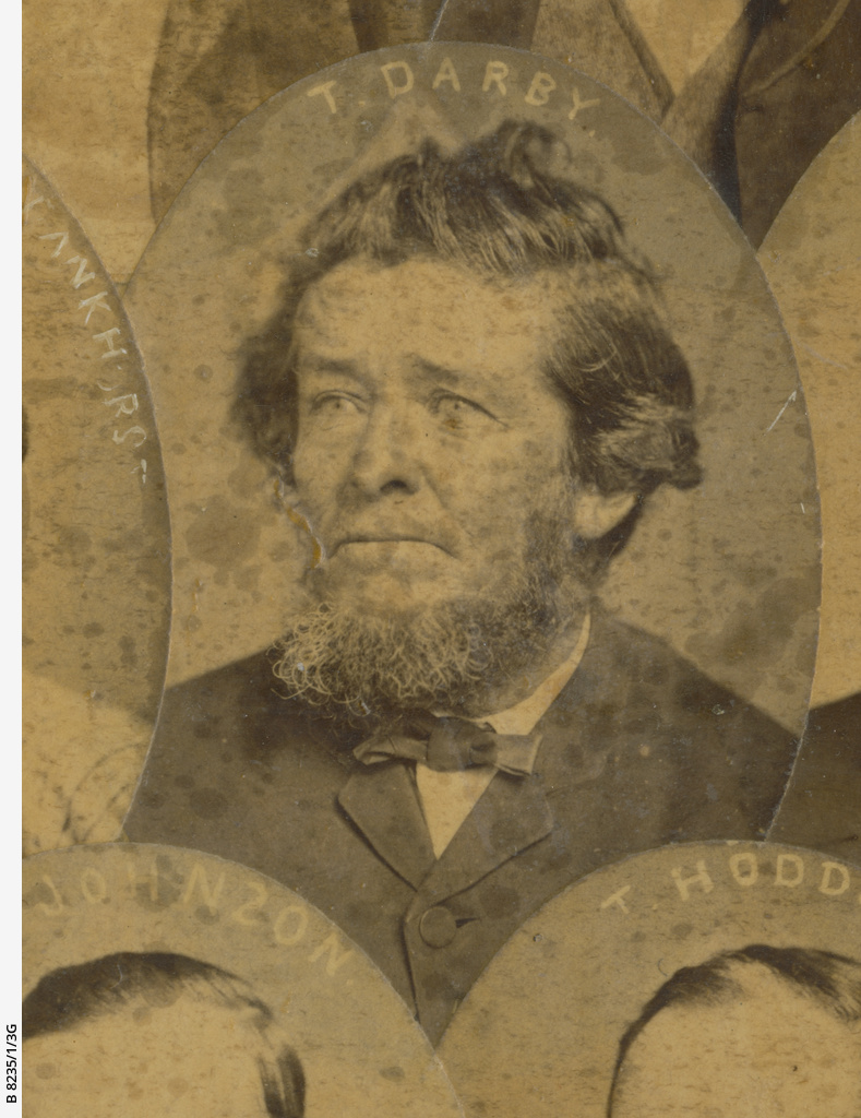 Old colonists 1836-1840 : Thomas Darby