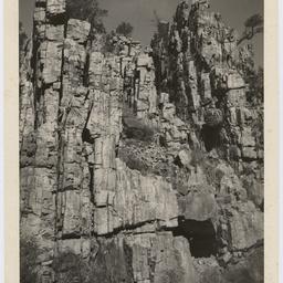 Rock face, Flinders Ranges
