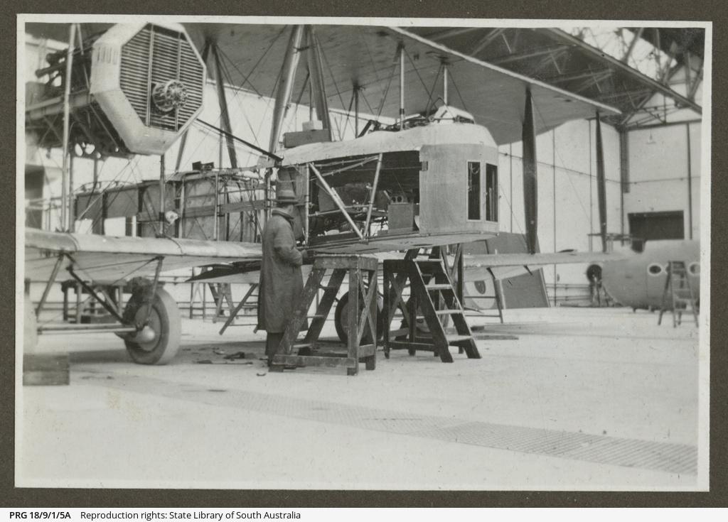 Vickers Vimy engine.