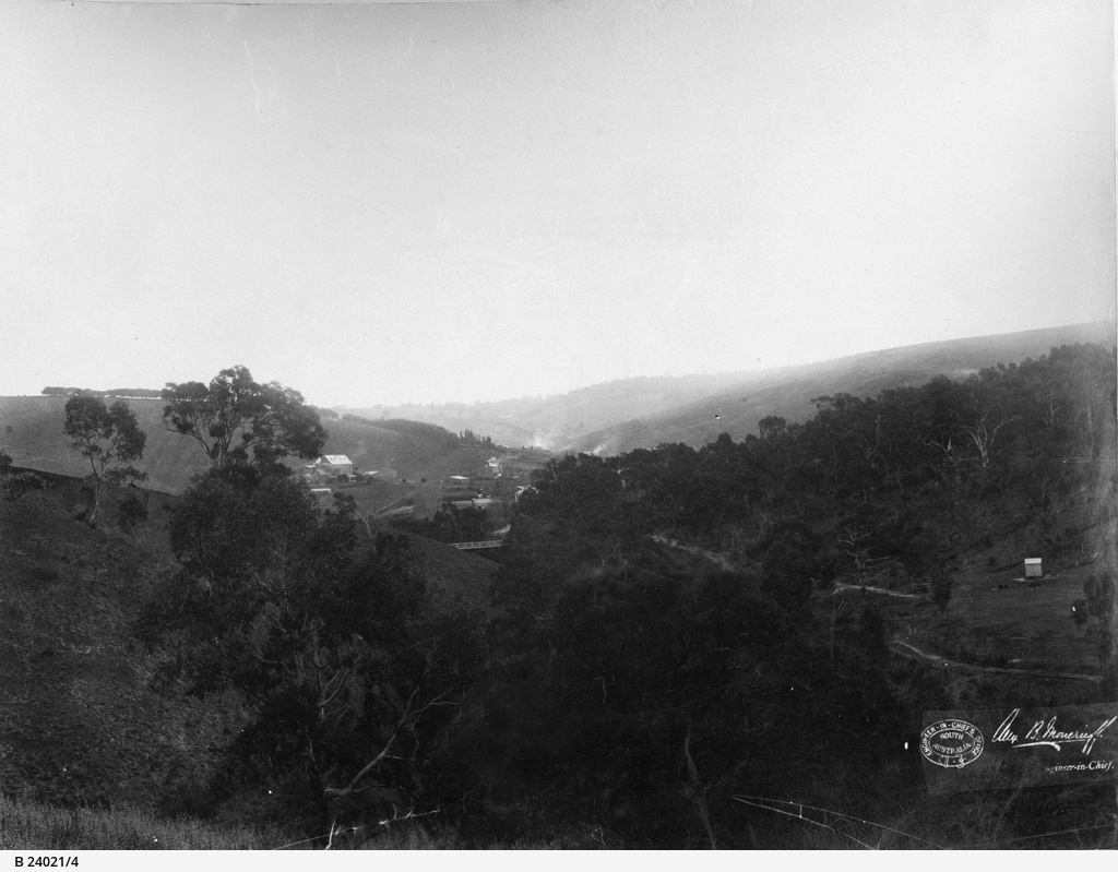 Happy Valley Reservoir : site of Clarendon Weir