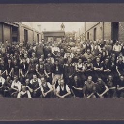 MTT staff at the Hackney Depot